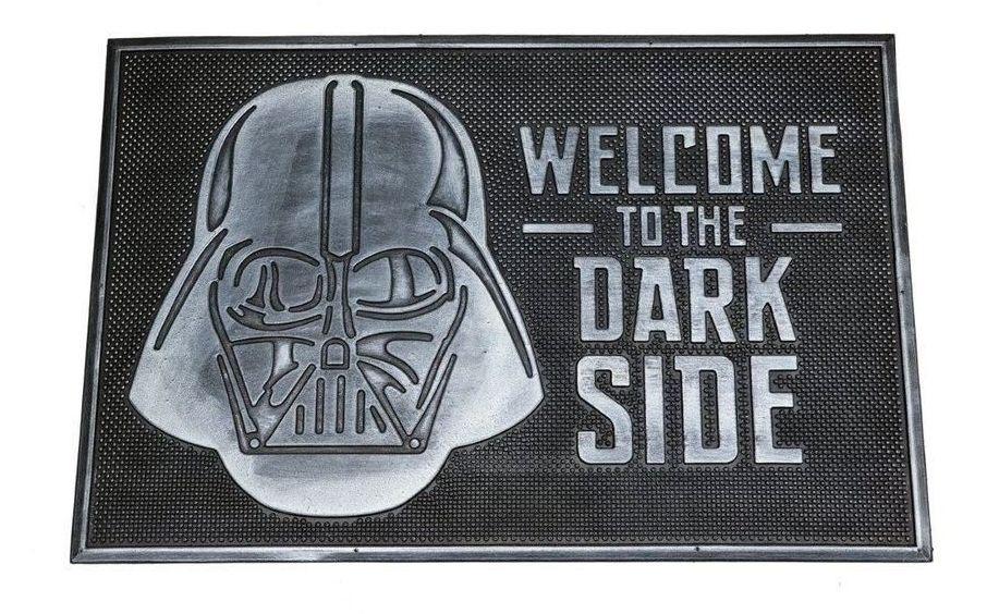 Star Wars Rubber Door Mat - Welcome to the Darkside