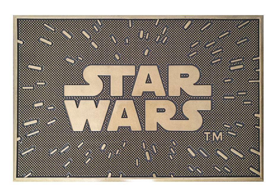 Star Wars Rubber Door Mat - Logo