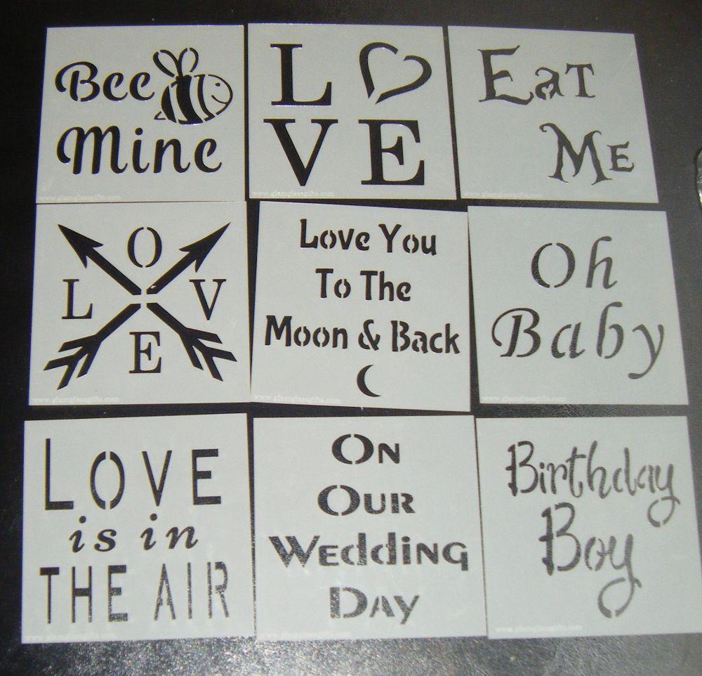 Word Stencils