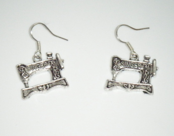 Singer Sewing machine Earrings