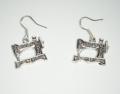 Singer Sewing machine Earrings