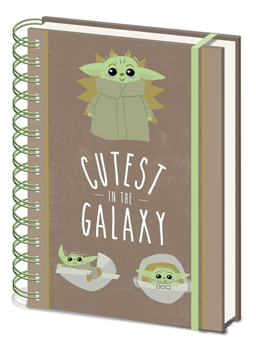Star Wars A5 Notebook - The Mandalorian - Cutest In The Galaxy