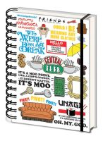 Friends A5 Notebook - The One with the Quotes