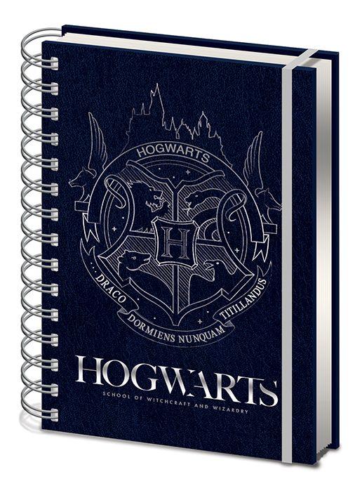 Harry Potter - Hogwarts Crest - A5 Notebook