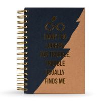 Harry Potter - Trouble Usually Finds Me - A5 Notebook