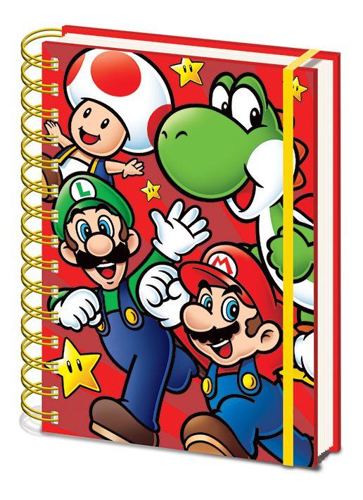 Nintendo A5 Notebook - Super Mario