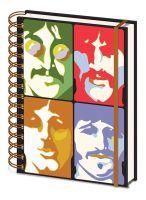 Beatles Faces A5 Notebook