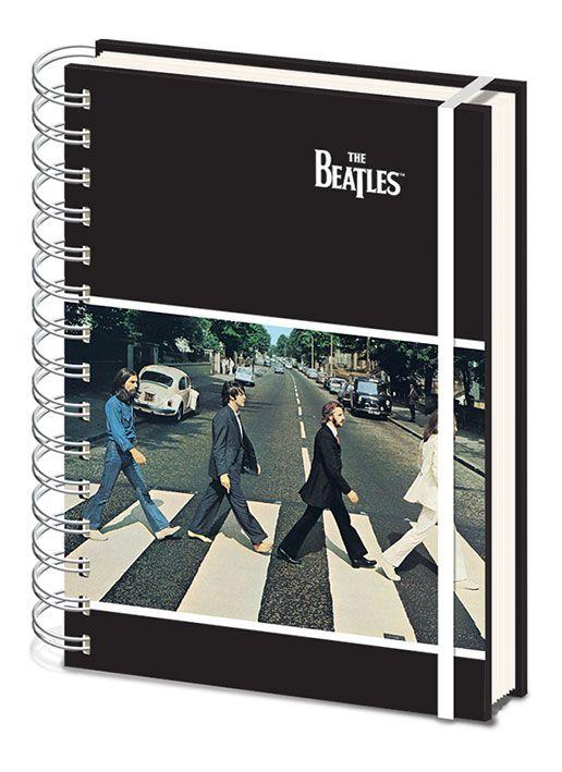 Beatles A5 Notebook - Abbey Road