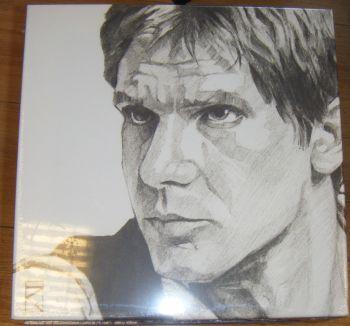 Han Solo Sketch Canvas Wall Art