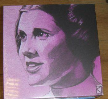 Princess Leia Sketch Canvas Wall Art