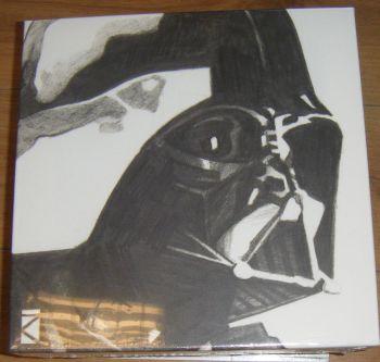 Darth Vader Sketch Canvas Wall Art