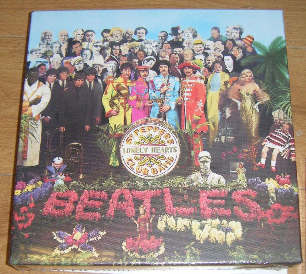 The Beatles Sgt Pepper Canvas Wall Art