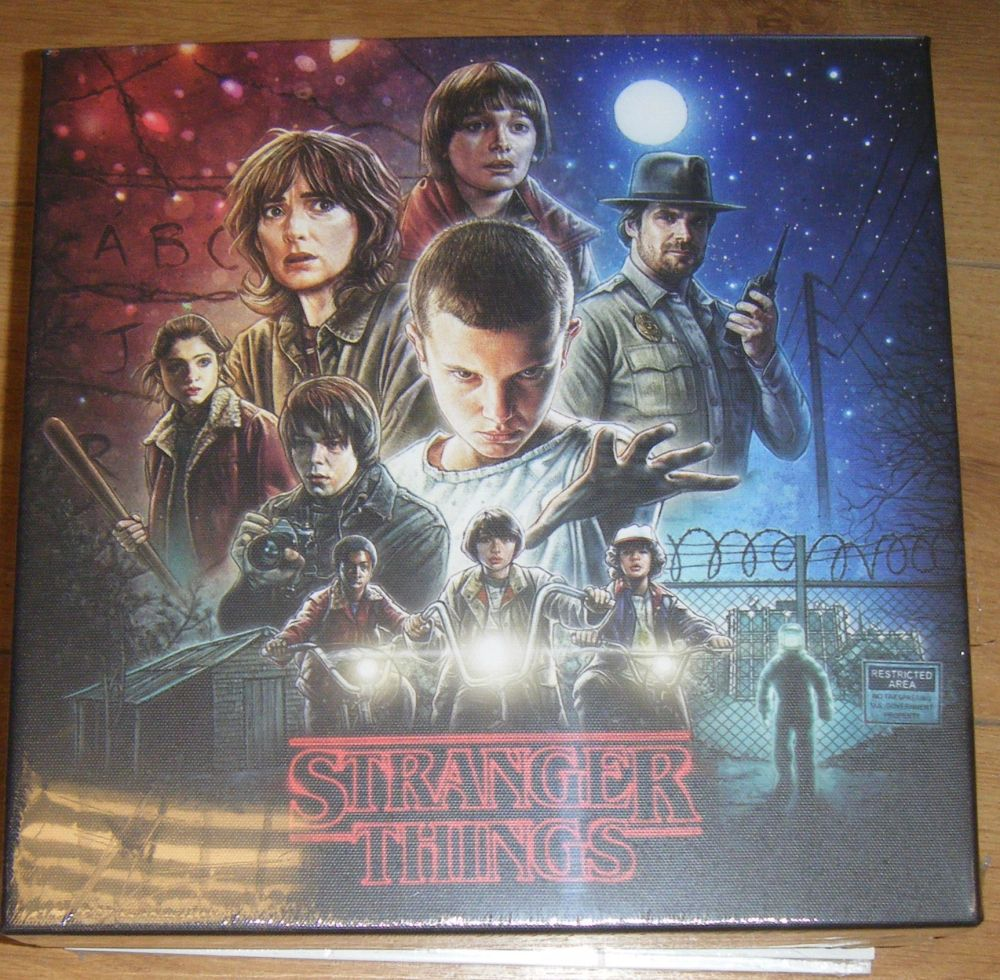 Stranger Things Canvas Wall Art