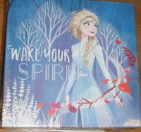 Frozen - Wake Your Spirit - Elsa Canvas Wall Art