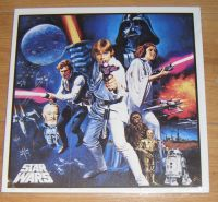 Star Wars Wooden Panel Wall Art