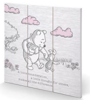 Winnie The Pooh Wooden Panel Wall Art