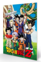 Dragonball Z - Unbreakable Bonds - Wooden Panel Wall Art