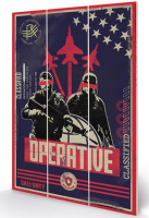 Call Of Duty Black Ops Cold War - Wooden Panel Wall Art
