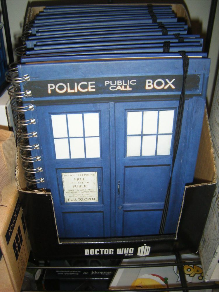 Dr Who  A5 Notebook - Tardis