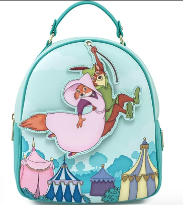 Disney by Loungefly Backpack Robin Hood Rescues Maid Marian