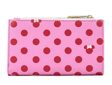 Disney by Loungefly Wallet Minnie Mouse Pink Polka Dots