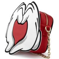 Loungefly x Disney Mickey Mouse Heart Handbag