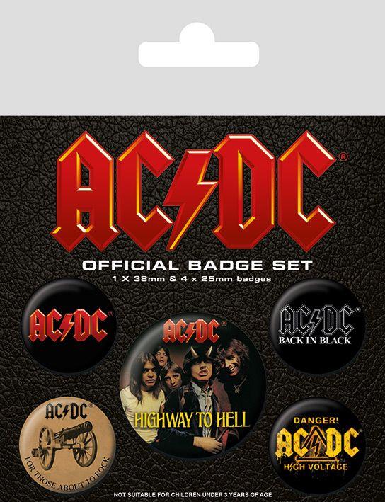 AC/DC Band Badge Pack