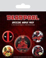 Deadpool Badge Pack