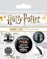 Harry Potter Symbols Badge Pack