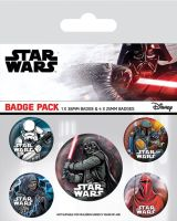 Star Wars Darth Vader Dark Side Badge Pack