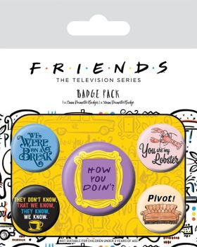 Friends Badge Pack