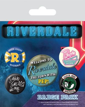Riverdale Icons Badge Pack
