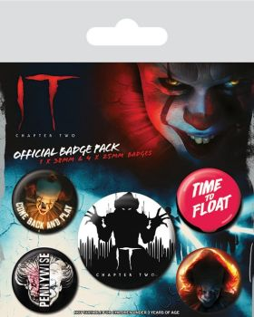 IT Chapter Two Horror Badge Pack