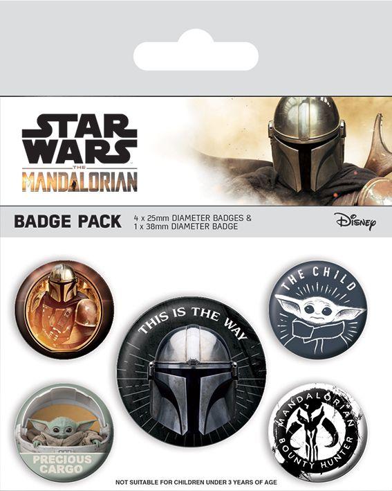 Star Wars Mandalorian Badge Pack