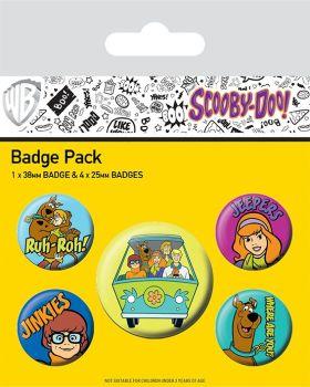 Scooby Doo Badge Pack