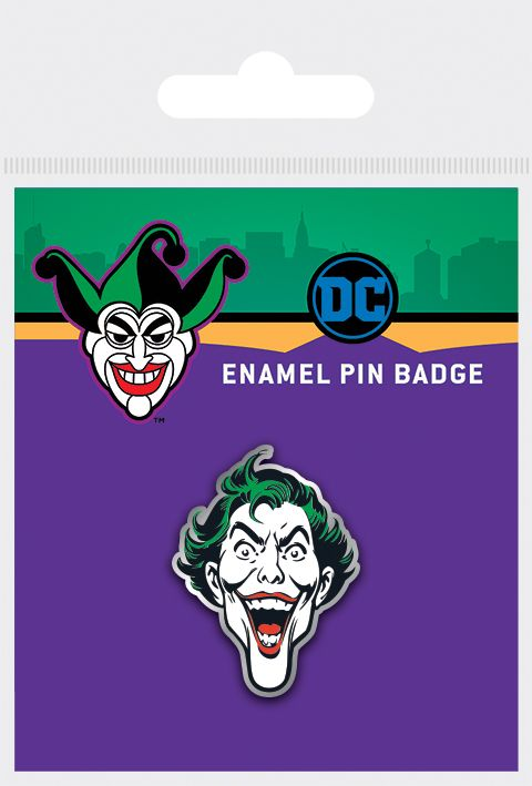 Joker - Batman Enamel Pin Badge