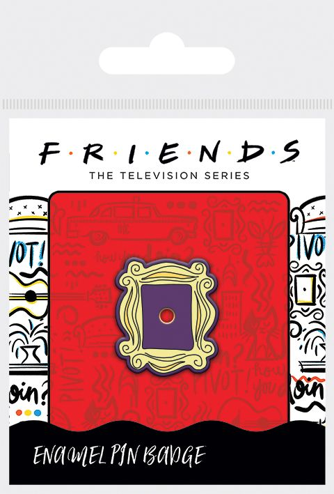 Friends - Frame Enamel Pin Badge