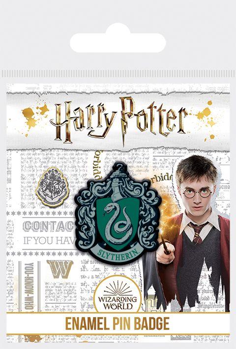 Harry Potter  Slytherin Enamel Pin Badge