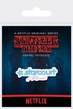 Stranger Things - Starcourt Mall Enamel Pin Badge