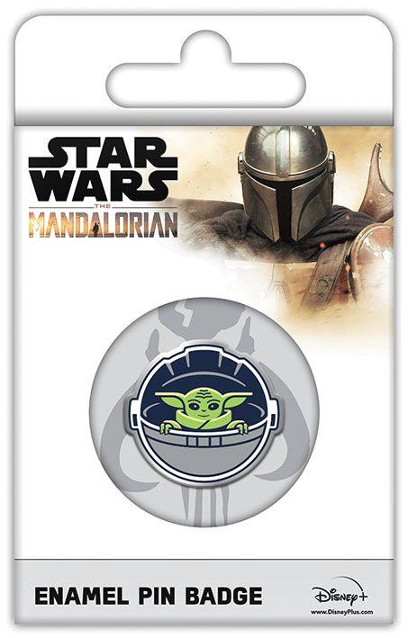 Star Wars Manalorian Child Yoda Enamel Pin Badge