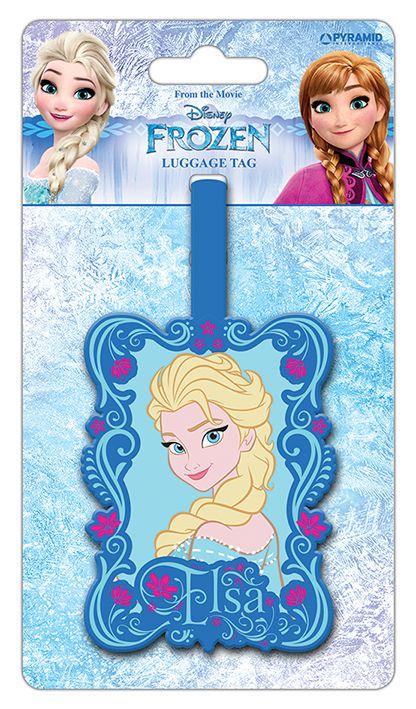 Disney - Frozen Elsa - Luggage Tag