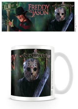 Nightmare On Elm Street - Freddy V Jason - Coffee Mug