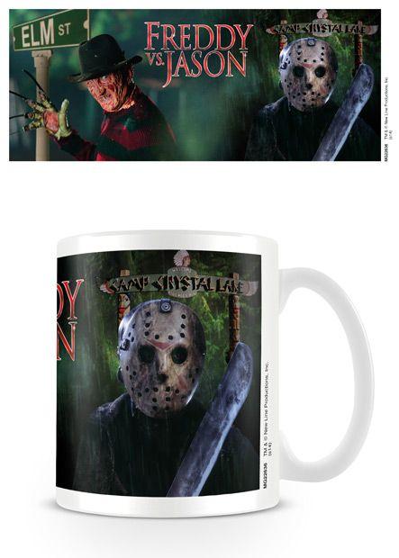 Nightmare On Elm Street - Freddy V Jason - Coffee Mug