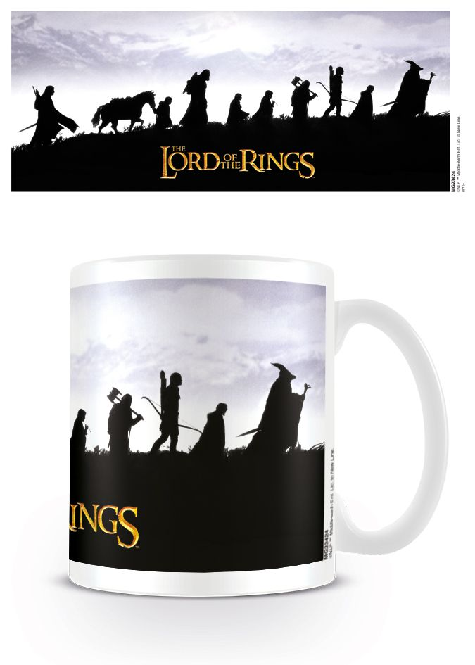 The Lord Of The Rings Fellowship - Coffee Mug