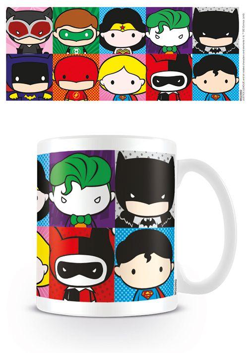 DC Justice League Chibi Agents Of Shield - Coffee Mug