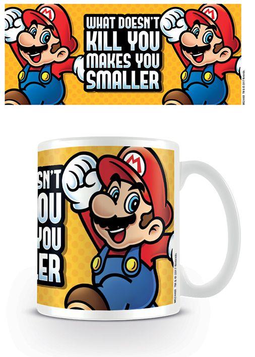 Nintendo - Super Mario - Makes You Smaller - Coffee Mug