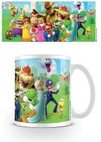 Nintendo - Super Mario - Mushroom Kingdom - Coffee Mug