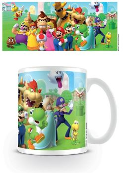 Nintendo - Super Mario - Mushroom Kingdom - Coffee Mug