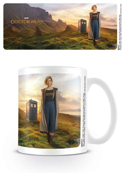 Dr Who 13th Doctor - Coffee Mug