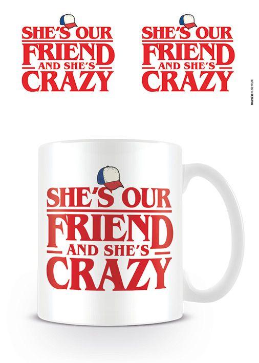 Stranger Things - She's Our Friend - Coffee Mug